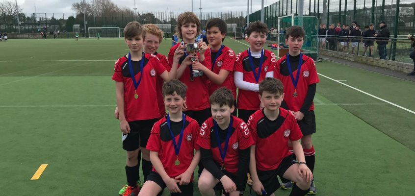 Boys 8-a-side Hockey Cup Finals