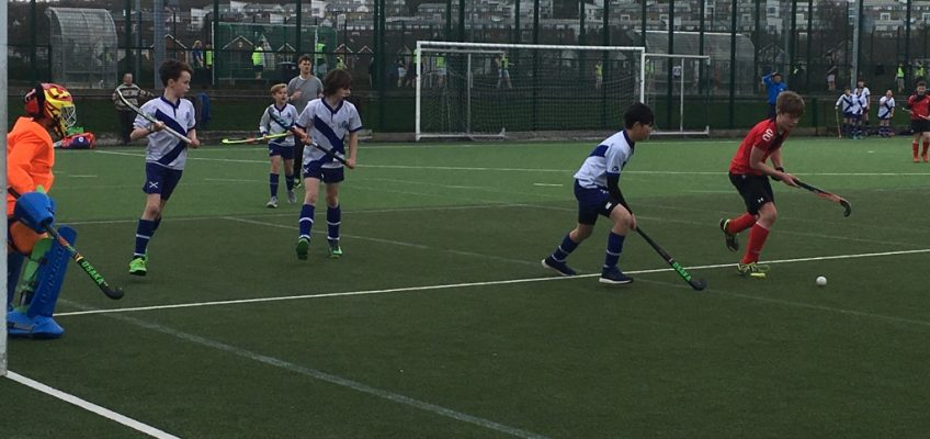 6th Class in action vs St Andrew's