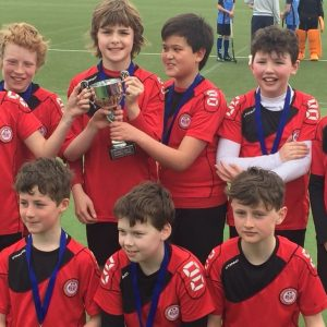 5th Class League & Cup Winners