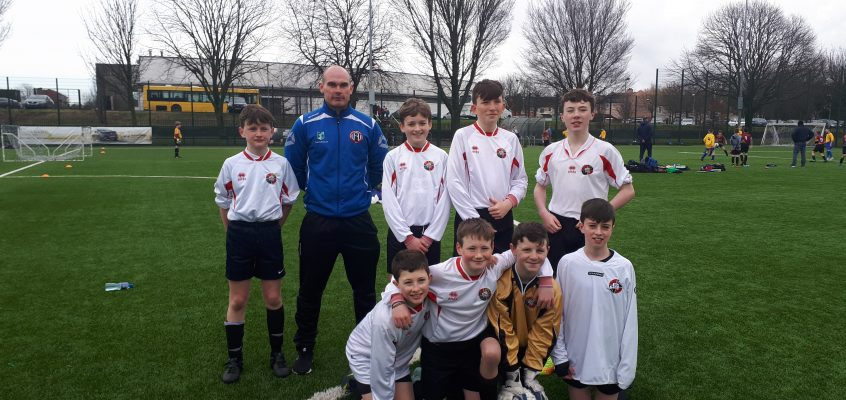 6th Class Boys Shine at Soccer Tournament
