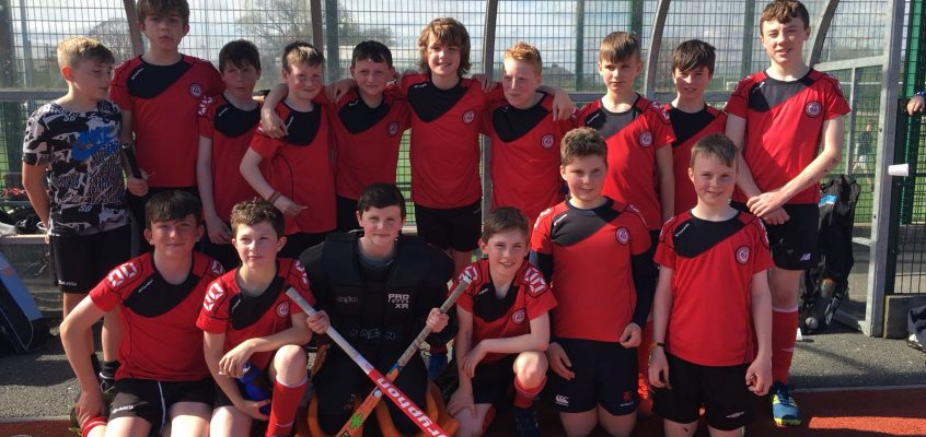 Boys Triumph in U13s Hockey Final