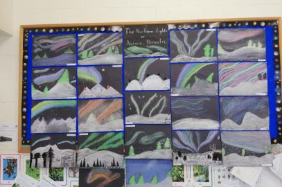 Collection of November art from 6th Class
