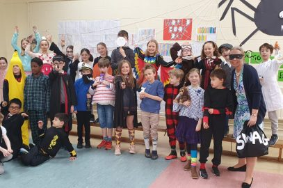 World Book Day in 3rd class