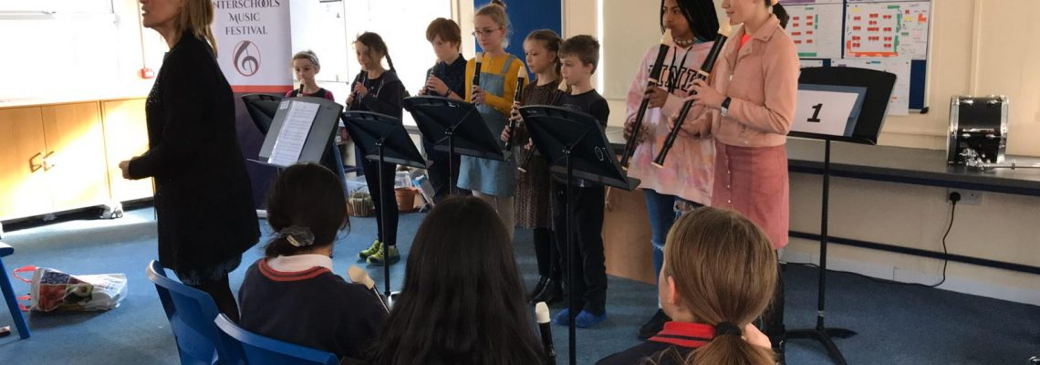 Advanced Recorder Group win gold at Interschools Music Festival