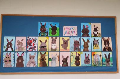 5th Class wish you a Happy Easter